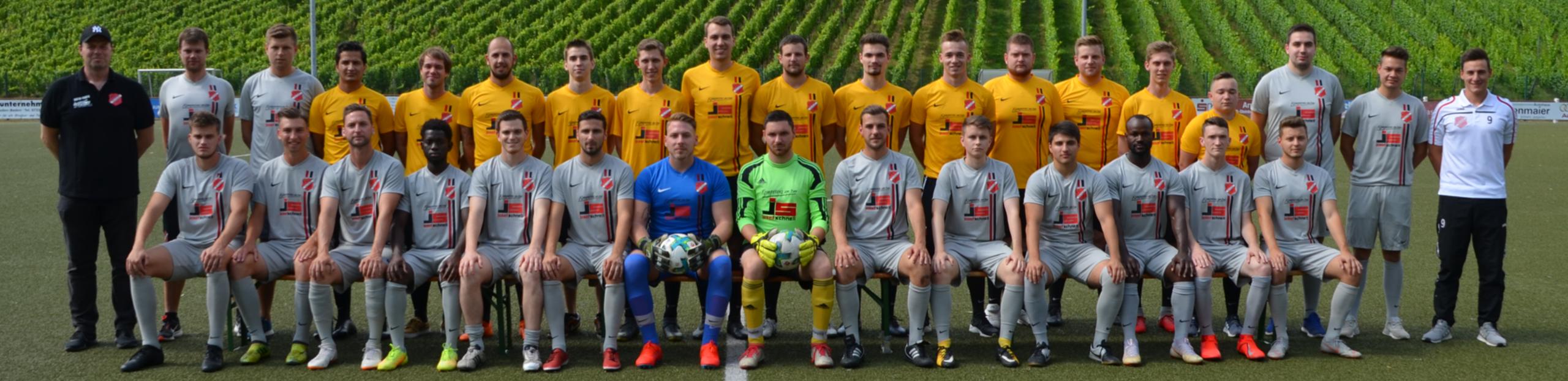 Mannschaftsbild 2019/2020