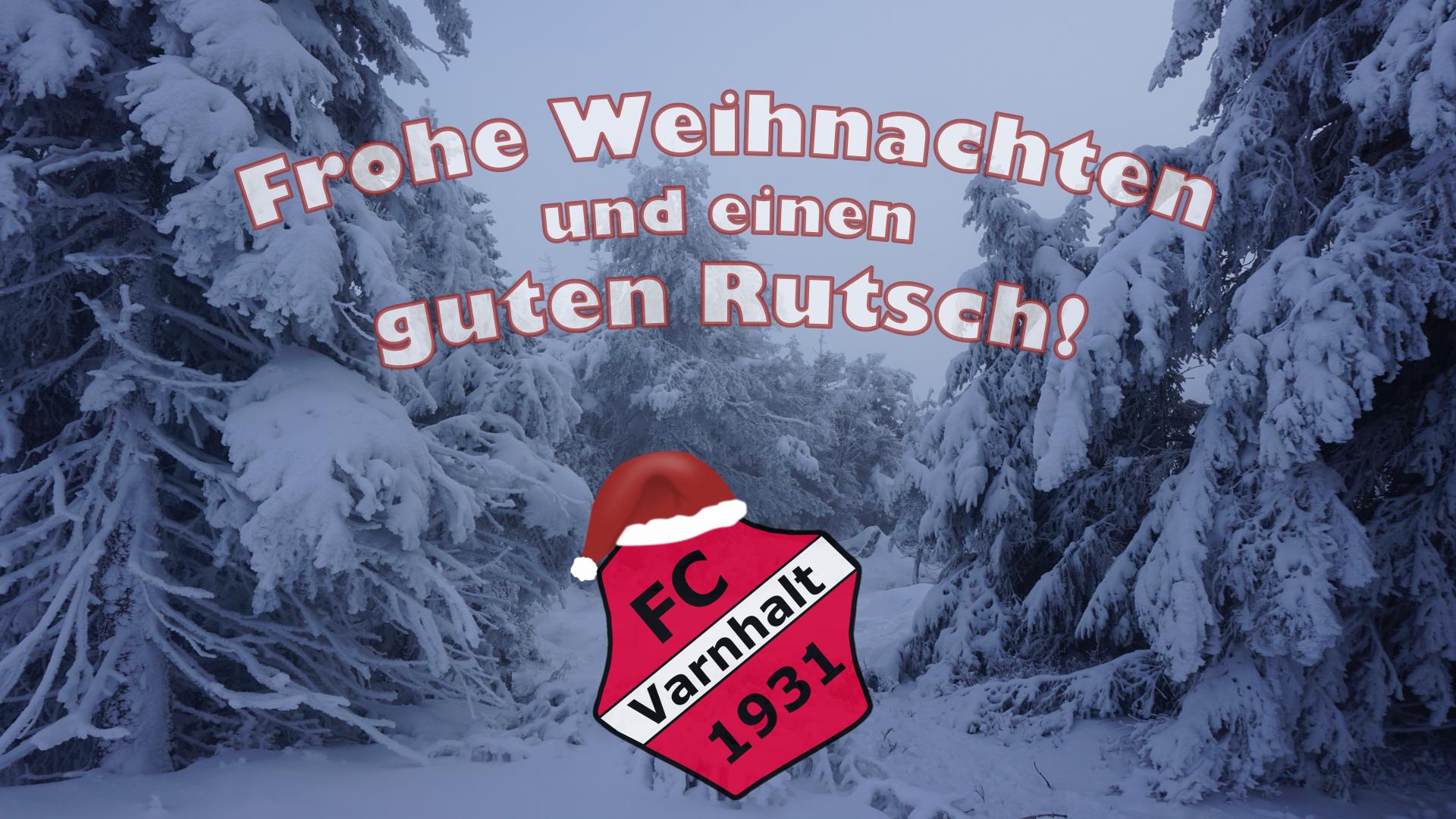 Weihnachtsgruß 2020 - FC Varnhalt