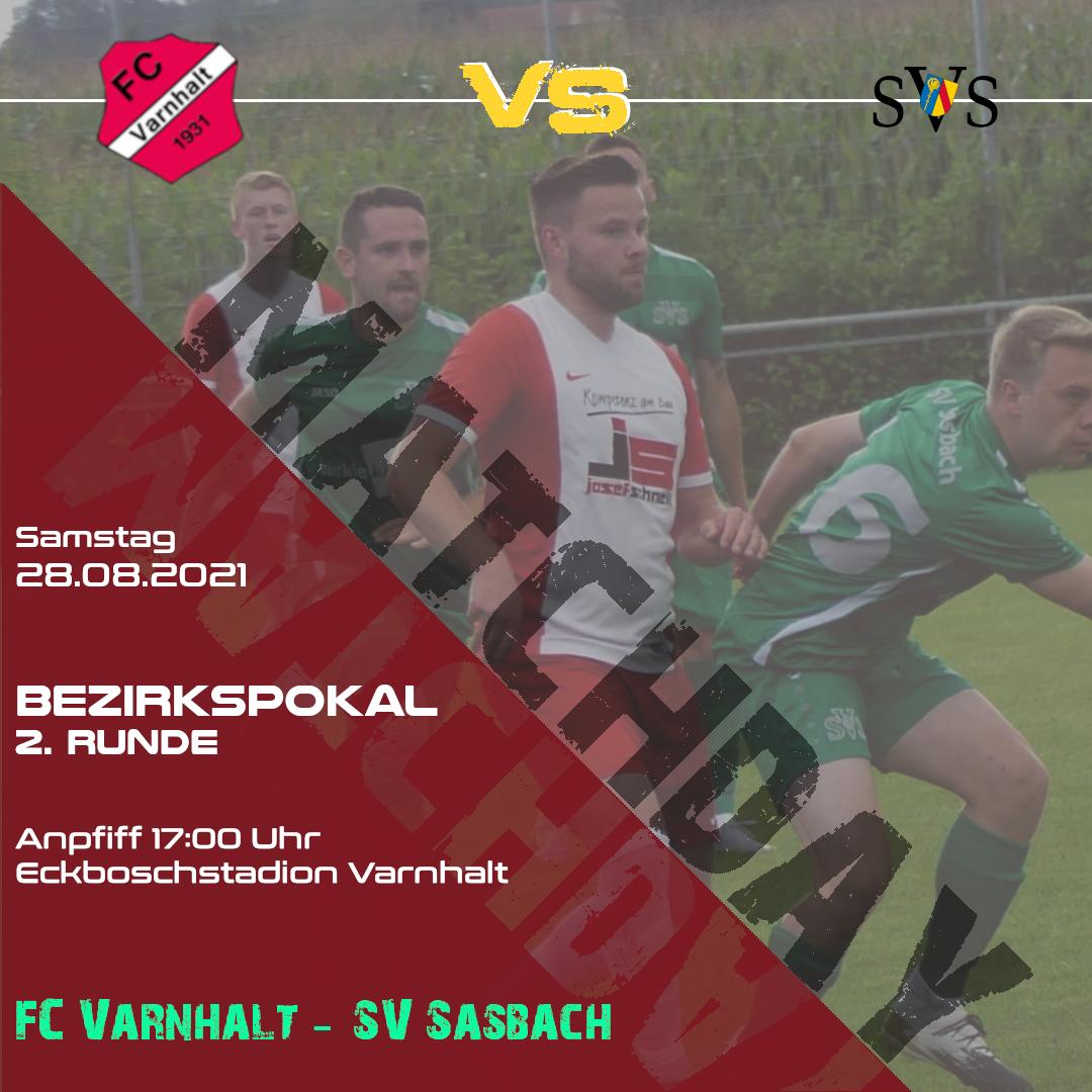 Bezirkspokal 2021 FCV-SVS